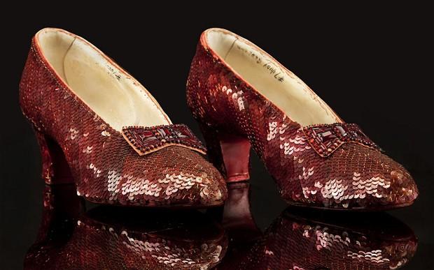 Scarpe di Dorothy de Il Mago di Oz