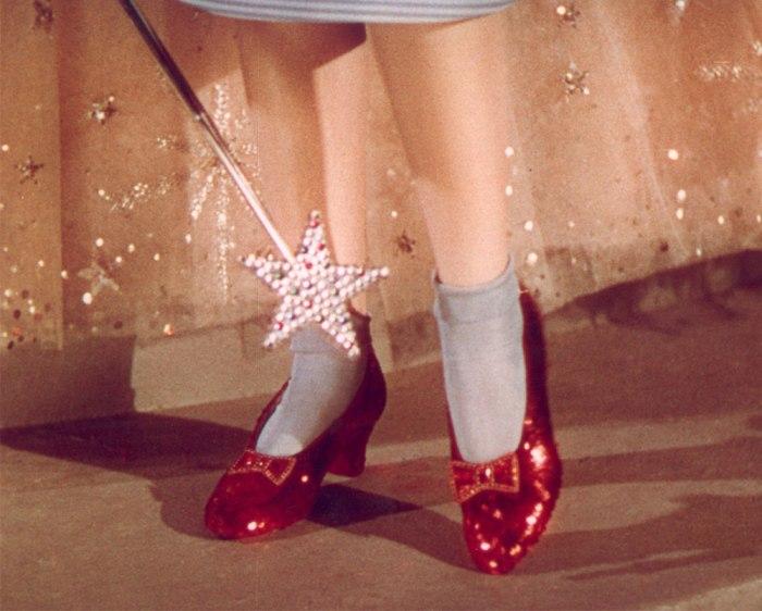 Le scarpe di Dorothy de Il Mago di Oz