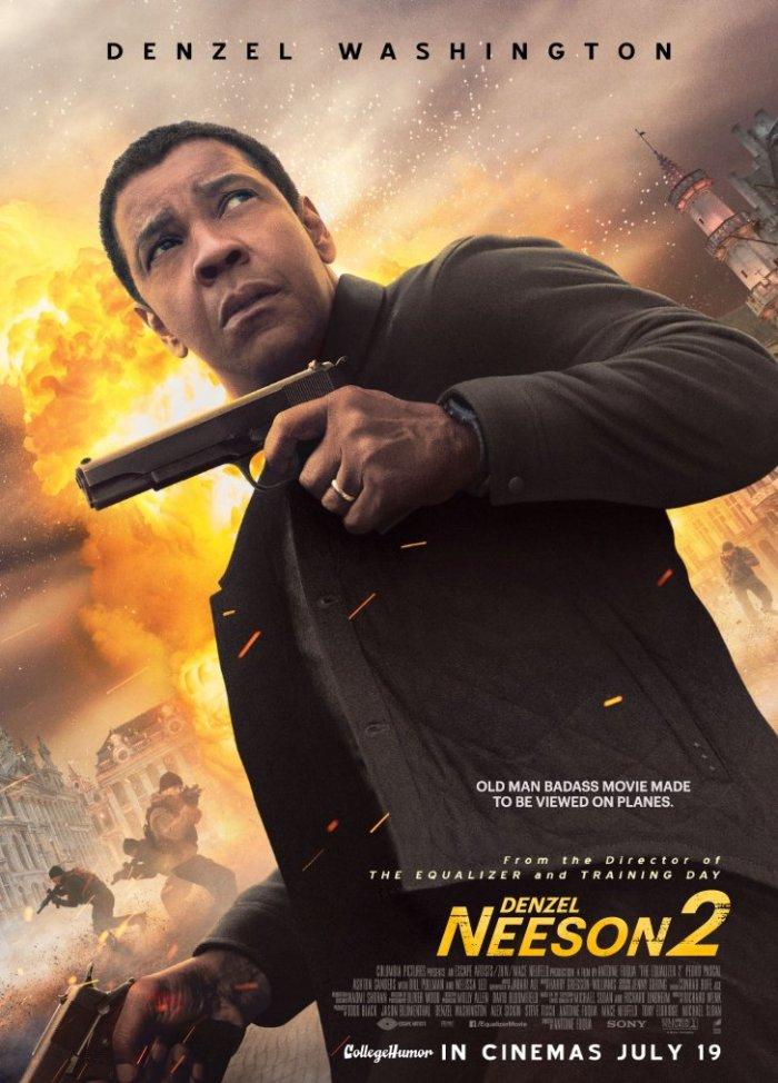 The Equalizer 2 (CollegeHumor)