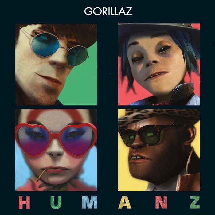Cover Humanz/Gorillaz