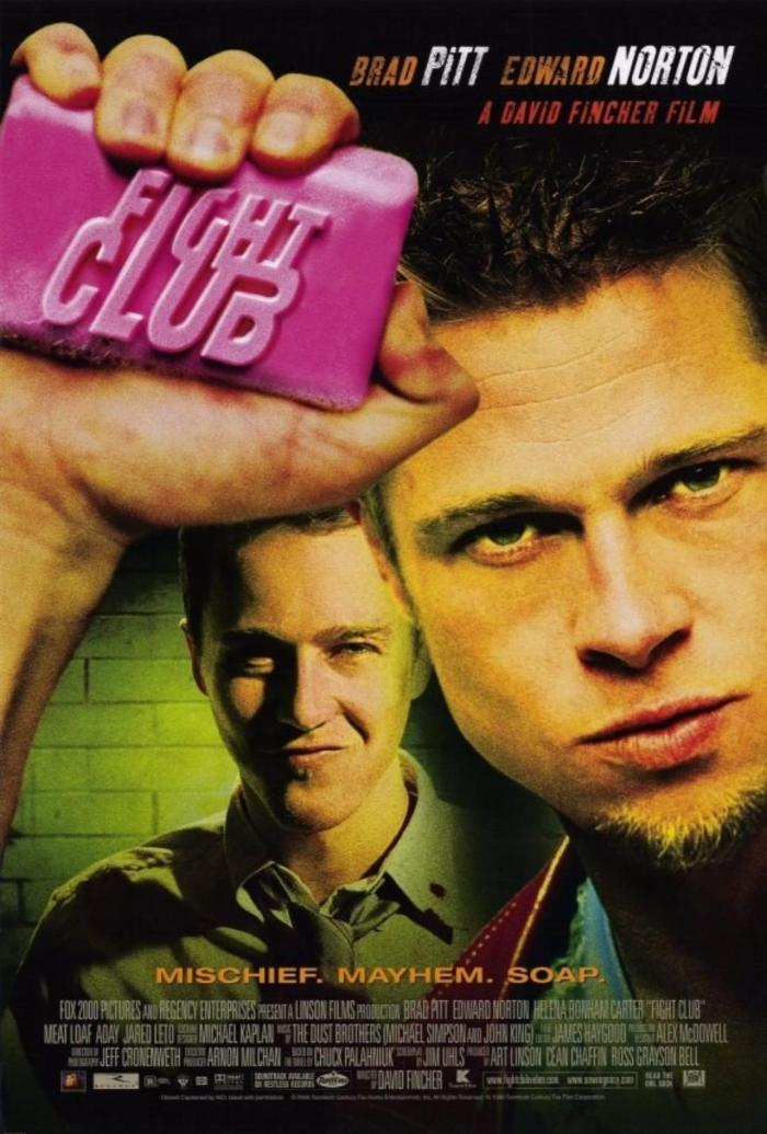 Locandina Fight Club (20th Century Fox)