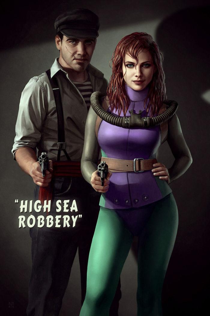 High Sea Robbery (Astor Alexander)