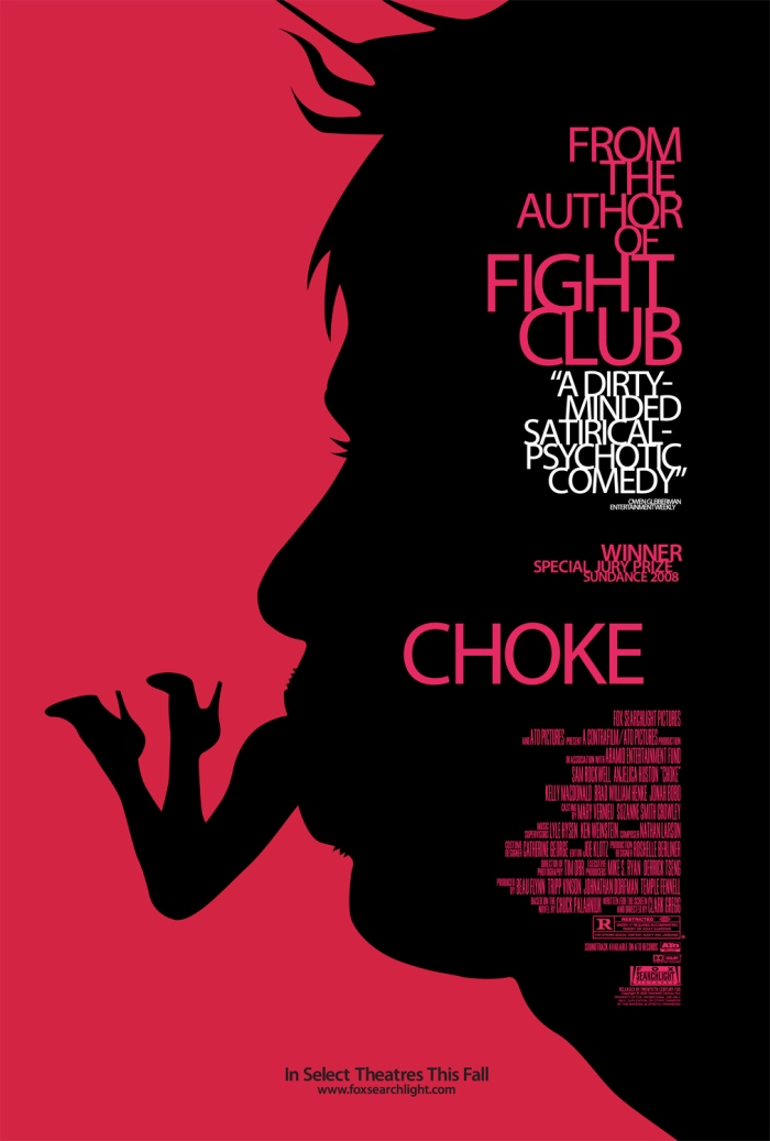 Locandina Choke (20th Century Fox)