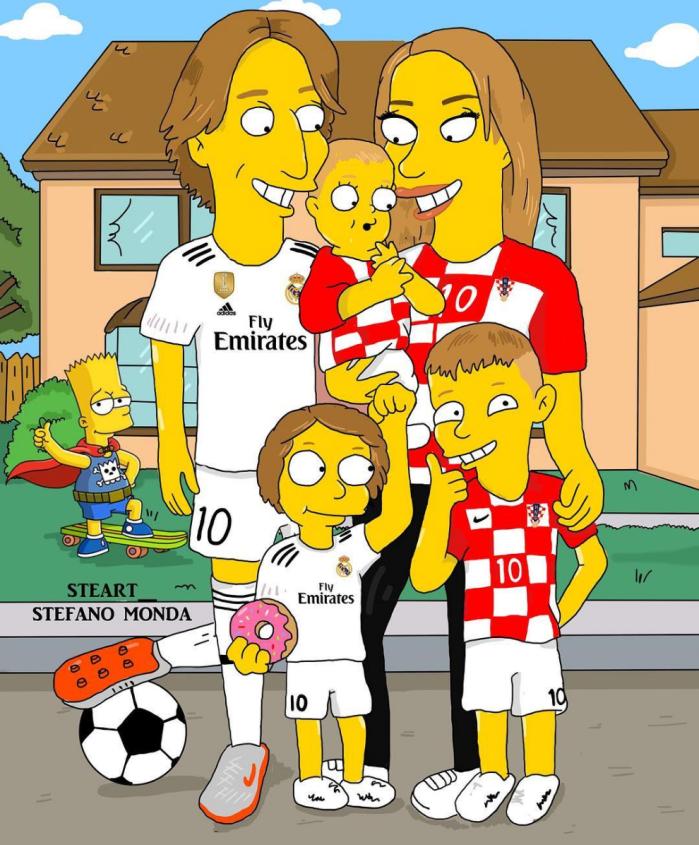 Luka Modric (Stefano Monda/Instagram)