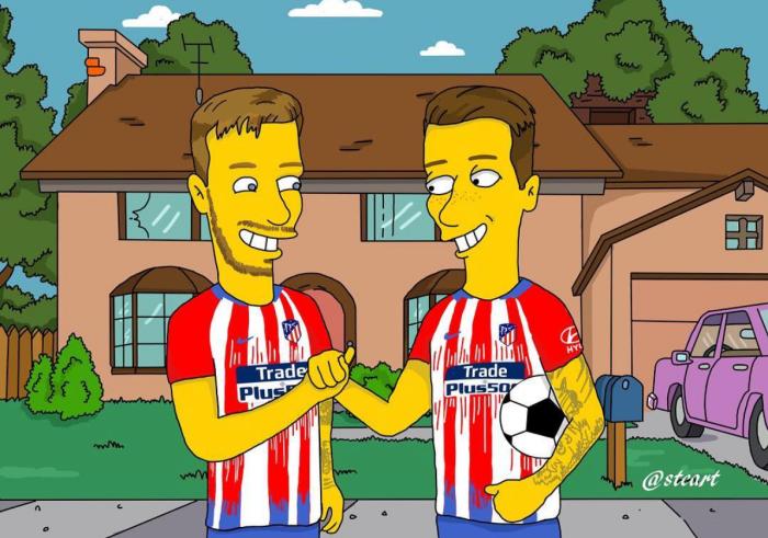 Saul Niguez e Fernando Torres (Stefano Monda/Instagram)