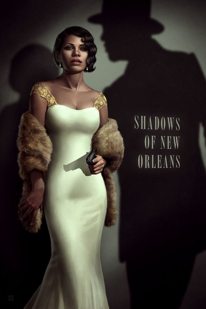 Shadows of New Orleans (Astor Alexander)
