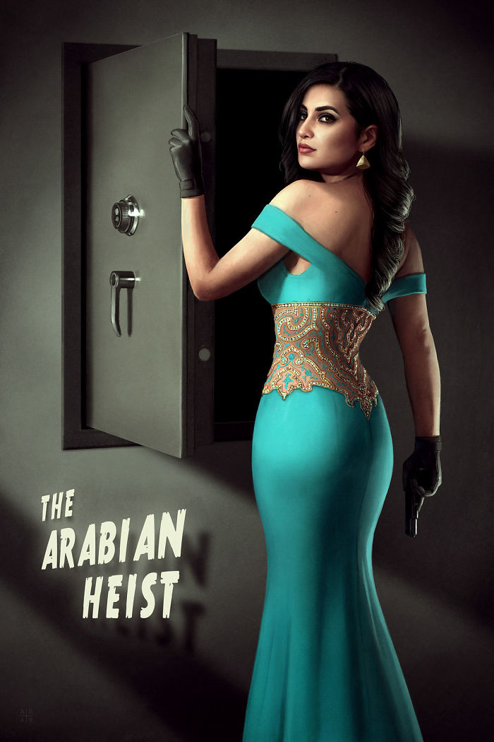 The Arabian Heist (Astor Alexander)